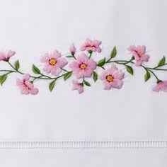 Cherry BlossomNapkin - Ivory Linen – Henry Handwork