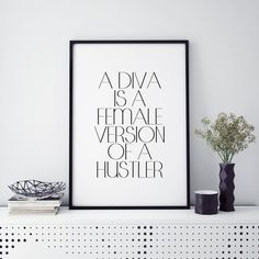 Hustle Quote Diva is a female version of a hustler by ParisStore