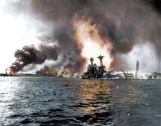 Japan blew up Pearl Harbor in December 1941 unexpectedly.S receive the report of Pearl Harbor they wanted to get payback so they started to gather there things. Pearl Harbour Attack, Remember Pearl Harbor, Uss Arizona, Navy Ships, Battleship, Military History, Military Photos, Military Men, Uss Enterprise