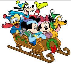 Winnie The Pooh Christmas, Mickey Mouse Christmas, Christmas Cartoons, Christmas Yard Art, Toddler Christmas, Christmas Animals, Christmas Bingo, Christmas Eve, Christmas Cards
