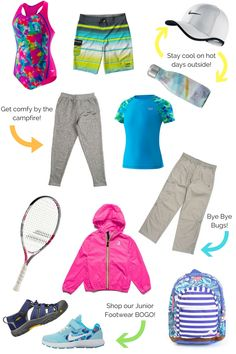 Kids Camp Checklist! Top 10 Things to Pack for Camp | Sporting Life Blog