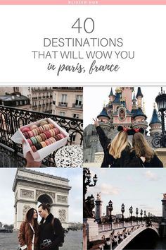 40 DESTINATIONS THAT WILL WOW YOU IN PARIS, FRANCE | paris, france, eiffel tower, the lourve, vacation, holiday ideas, places to go | Paris is so much for than the typical Eiffel Tower, who knew there were so many exquisite attractions! #Paristravel