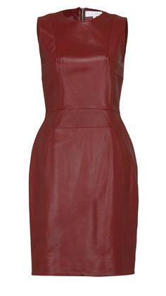 Moda d'autunno, tubino in pelle Look Fashion, Autumn Fashion, Peplum Dress, Formal Dresses, Dresses For Formal, Fall Fashion, Peplum Dresses, Gowns, Peplum Outfit