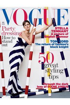 Stella Tennant Style File - Vogue shoots, catwalk | British Vogue Vogue Magazine Covers, Vogue Covers, Tim Walker Photography, Stella Tennant, Lily Cole, Georgia May Jagger, Uk Magazines, Karen Elson, Diane Arbus