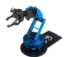 LeArm is a high performance programmable robotic arm. It can move very flexible and grab in different directions. Full metal body structure makes the robotic arm...