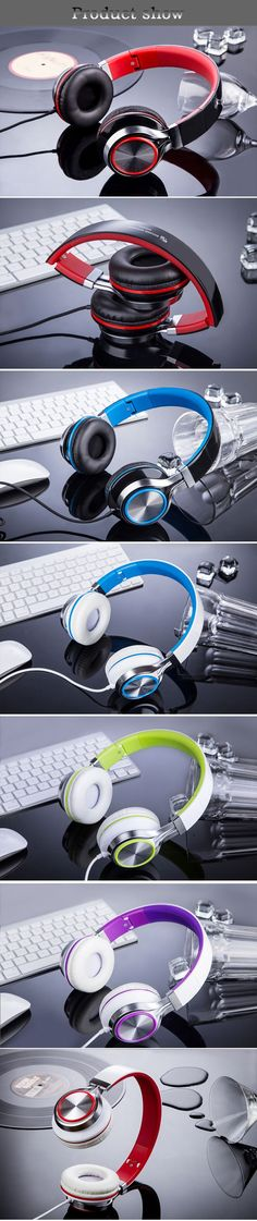 0e5bf8eb60 Sound intone HD200 fashion wired music Headphone sport Gaming Headset High  quality stereo headphones with mic