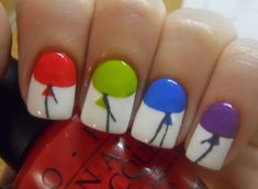 Colorful Balloon Nails....this never ceases to amaze me....absolutely ridiculous
