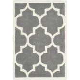 Found it at AllModern - Chatham Dark Grey & Ivory Moroccan Area Rug