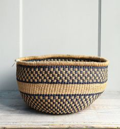 Vintage Southwestern Basket by ethanollie on Etsy, $42.00