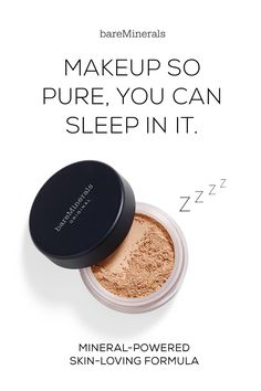 A skin loving formula created with exceptional purity in mind. Original Foundation gives you flawless coverage, with a no-makeup look & feel that lasts up to 8 hours. It diminishes the appearance of imperfections without drying out skin. Our groundbreaking formula is clinically proven to promote clearer, healthier-looking skin. Formulated without parabens, binders, fillers, or synthetic chemicals. Available in 20 shades in at bareMinerals.com