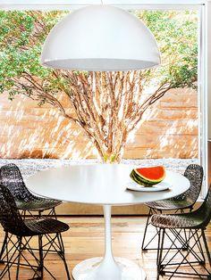 Sala de Jantar com Vista para o Jardim