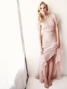 Diane Kruger by Simon Emmett forGlamour UK, March 2013