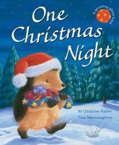Tırtıl Kids , A Sparkling Glitter Book : One Christmas Night , 4 Christmas Night, Christmas Books, First Christmas, Merry Christmas, Christmas Ideas, Christmas Crafts, Hedgehog Book, Hedgehog Craft, Christmas Card Pictures