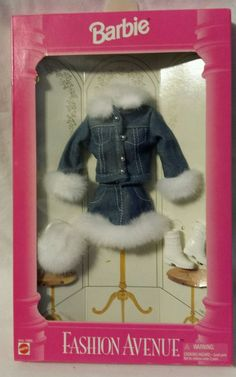 Barbie Fashion Avenue #14980  - Mattel - 1995 - NIB #Mattel