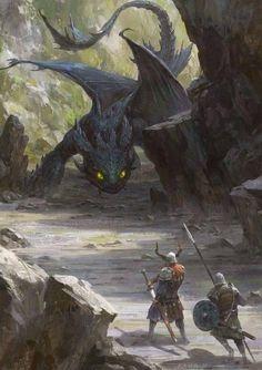 Anonymous said: Could you make like dragons with vikings? Answer: Dragons and vikings Dark Fantasy Art, Fantasy Artwork, Fantasy Kunst, Mythical Creatures Art, Magical Creatures, Forest Creatures, Dragons, Dragon Artwork, Dragon Pictures