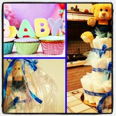 Diaper cake per nascite o baby shower