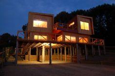 Casa de Playa de Madera