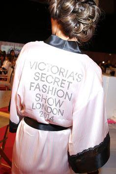 Backstage at the Victoria's Secret 2014 Fashion Show. [Photo by Delphine Achard]