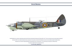 Blenheim GB 105Sqn by WS-Clave.deviantart.com on @DeviantArt
