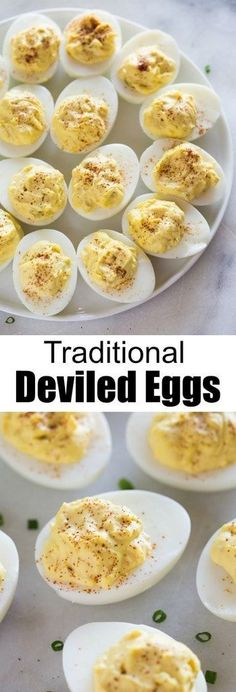 Appetizer recipe that must be on your Easter menu - the BEST Classic Deviled Eggs. Appetizer recipe that must be on your Easter menu - the BEST Classic Deviled Eggs. Easter Appetizers, Healthy Appetizers, Appetizers For Party, Appetizer Recipes, Birthday Appetizers, Appetizer Ideas, Party Snacks, Recipes Dinner, Dinner Ideas