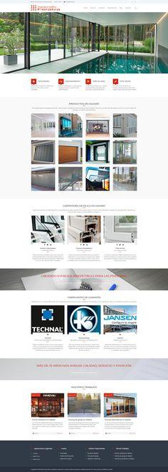 Sitio web desarrollado con WordPress