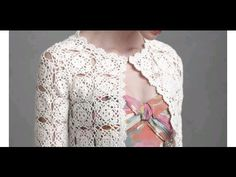 GIACCA CARDIGAN aperta davanti all'uncinetto CROCHET CARDIGAN - YouTube
