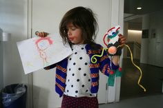 Just one of the lovely creations from the Be Artrageous workshops we ran as part of the Family Arts Festival in October.