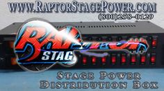 Raptor Stage Power   Stage Power Distribution Box