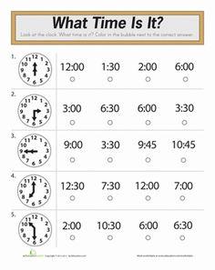Time Worksheets ?» Telling Time Worksheets Grade 3 Free - Preschool ...