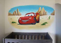 Resultado de imagen para muurschildering Cars
