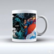 Batman Vs Superman 2016 White Mug