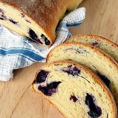 Perfect bread for morning toast or coffee break snack: blend of savory and sweet.