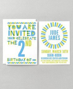 Kids party invites