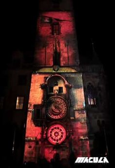Awesome Video Mapping Architectural Projection.