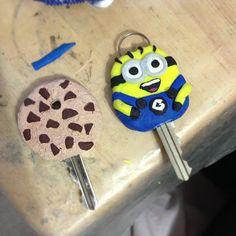Craft your own fun key covers using polymer clay