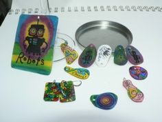 I miss making shrinkies...wish therewe was a foolfew proof way of makingall um using!! Recycled goodies! I love um!!!
