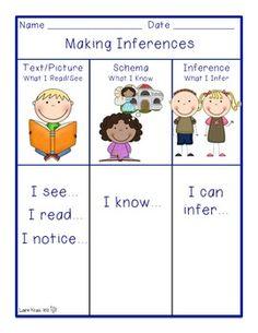 MAKING INFERENCES - TeachersPayTeachers.com