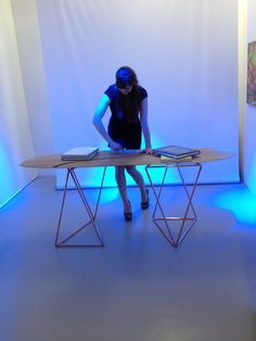 Plume live performance with Ania at the Design Junction edit London September 2015
