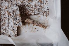 Song of Style Raw Bars Recipe, semi raw: Aimee's infamous recipe with all exact measurements for delicious vegan, gluten- and sugar free bars.
