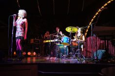 Jen Ayers belts it out at Big Top Rock: Dream On (photo credit: Bob Suh)