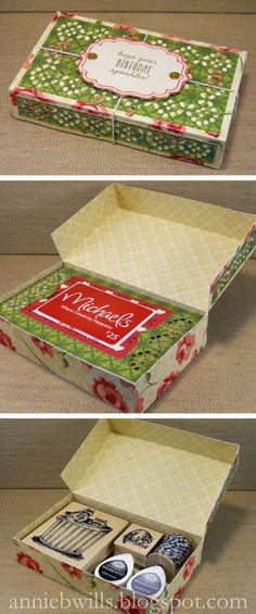 Gift Card Box for a Crafty Friend | Lab Hands