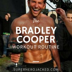 Bradley Cooper Workout Routine and Diet: American Sniper meets Rocket Raccoon