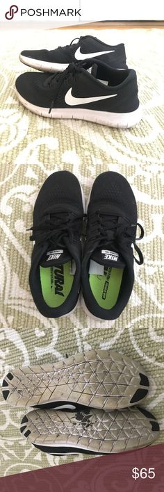74dba893fcf16 NIKE FREE RN Women s Black 2016 Super comfortable Nike Free Run 2016 s! I  purchased these