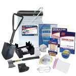 """Hurricane Kit Accessory Kit to the Home Survival Kit with additional emergency supplies specifically designed to prepare your home for earthquakes. Some of the most common emergencies and even everyday accidents occur in the home. This custom kit is specially designed to contain the most effective supplies to """"quake-proof"""" your home and protect against damage or injury that may occur during an accident or earthquake. What's Included:(1) Duct Tape – Endless applications. An essential for any…"""