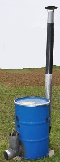 Rocket Stove Drum