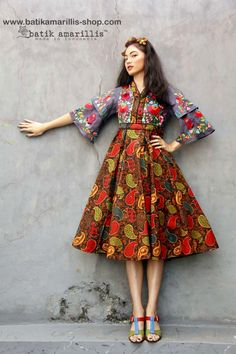 54 Ideas Diy Clothes Patterns For Women Fabrics Diy Fashion Dresses, Casual Dresses, Fashion Outfits, Diy Outfits, Sewing Clothes Women, Dress Clothes For Women, Diy Clothes, Batik Fashion, Ethnic Fashion
