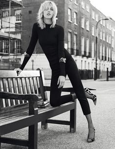 Anja Rubik Fronts Giuseppe Zanotti Fall 2013 Campaign - Fashion Gone Rogue: The Latest in Editorials and Campaigns