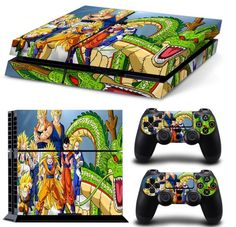 (*** http://BubbleCraze.org - The latest hot FREE Android/iPhone game ***)  Skin Stickers For Sony Playstation 4 Console and 2 Controllers