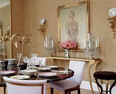 Dining room by Amanda Nisbet