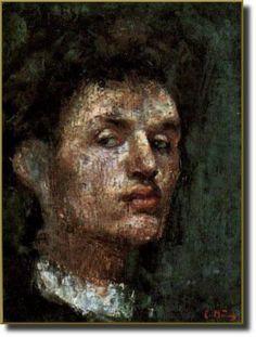 Edvard Munch, Self portrait, 1886